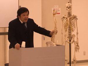 桑岡俊文博士による腰椎部の構造学・機能学のレクチャー