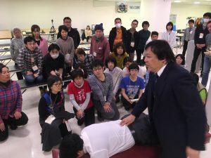 桑岡俊文博士による腰椎部のテクニック