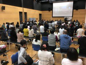 テクニカルベーシックセミナーでの講義をする桑岡俊文博士