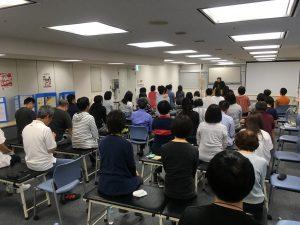 全国ネットワークで結ばれた熱心に学ぶKCSグループの先生たち。