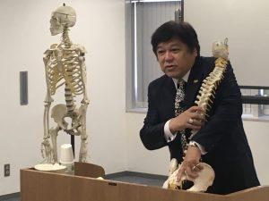 KCS 桑岡俊文会長 の 腰痛 のメカニズムレクチャー